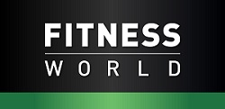 Fitness World's logo